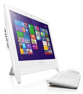 "Моноблок 19.5"" Lenovo IdeaCentre C20-00 1920 x 1080 Intel Pentium-J3710 4Gb 500Gb Intel HD Graphics 405 64 Мб DOS белый F0BB00YFRK"