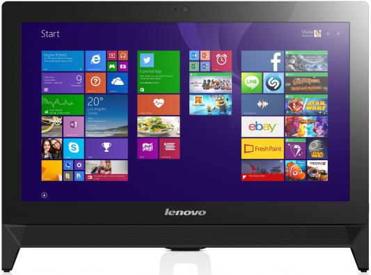 "Моноблок 19.5"" Lenovo IdeaCentre C20-00 1600 x 900 Intel Pentium-J3710 4Gb 500Gb Intel HD Graphics 405 DOS черный F0BB00T9RK"