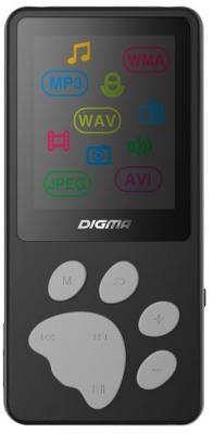 Плеер Digma S3 4Gb черный/серый