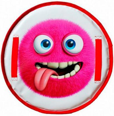 Ледянка RT Монстрик с пластиковым дном ZOI до 150 кг розовый ПВХ Пластик