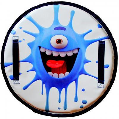 Ледянка RT Монстрик с пластиковым дном ZIGGI до 150 кг синий ПВХ Пластик
