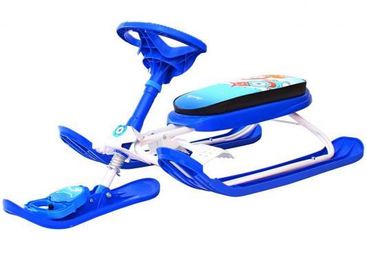 Снегокат RT Penguin Sport 2 до 100 кг синий пластик