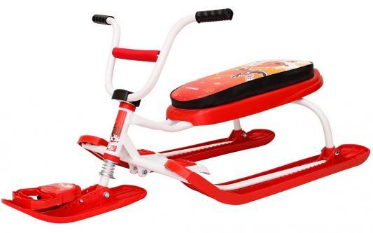 Снегокат RT Penguin Sport до 100 кг красный пластик