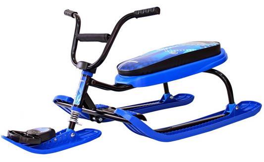 Снегокат RT Penguin Sport до 100 кг синий пластик