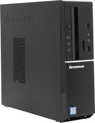 Системный блок Lenovo IdeaCentre 510S-08ISH SFF i3-6100 3.7GHz 4Gb 1Tb HD530 DVD-RW DOS черный 90FN00B8RS