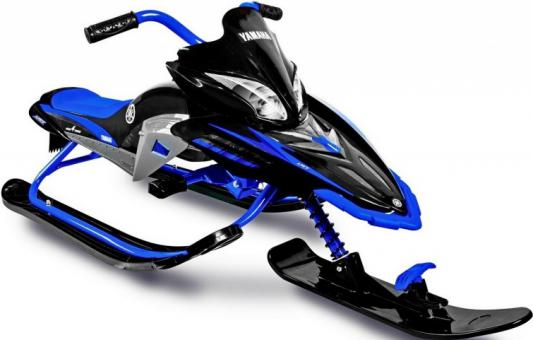 Снегокаты Snow Moto Apex SNOW BIKE Titanium black/blue до 40 кг синий пластик металл YM13001