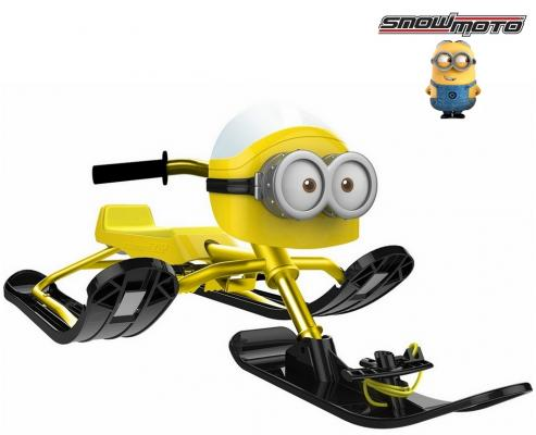 Снегокат Snow Moto MINION Despicable ME до 68 кг желтый пластик металл 37018 despicable me unicorn minion stuffed