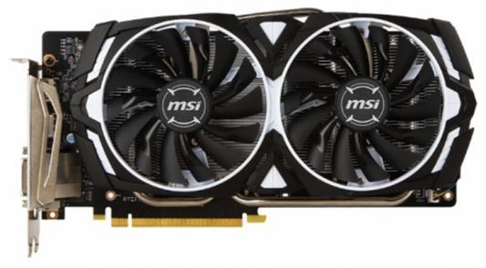 Видеокарта 6144Mb MSI GeForce GTX 1060 Armor 6G PCI-E 192bit GDDR5 DVI HDMI DP HDCP GTX 1060 ARMOR 6G Retail