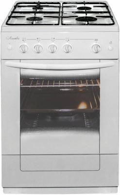 Комбинированная плита Лысьва ЭГ 401 М2С-2у белый электрическая плита лысьва эп 301 wh