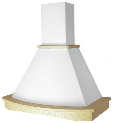 Вытяжка каминная Elikor Ротонда 90П-650-П3Г бежевый/дуб белый