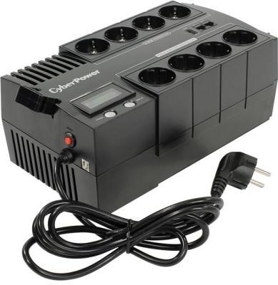 ИБП CyberPower 700VA/420W BR700ELCD черный