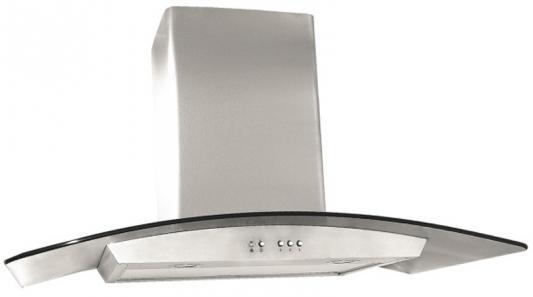 Вытяжка каминная Elikor Аметист 90Н-650-К3Г серебристый