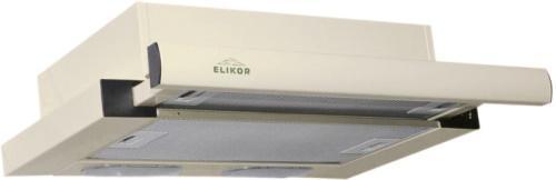Вытяжка встраиваемая Elikor Интегра 45П-400-В2Л кремовый встраиваемая вытяжка elikor интегра 60 крем крем