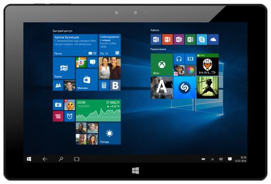 """Планшет Irbis TW73 10.1"""" 32Gb черный Wi-Fi Bluetooth Windows TW73"""
