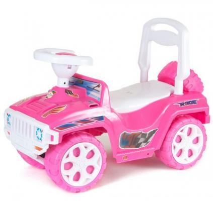 Каталка-машинка R-Toys Mini Formula 1 розовый от 10 месяцев пластик ОР856