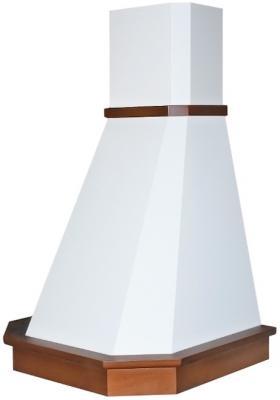Вытяжка каминная Elikor Камин Грань 60П-650-П3Л бежевый /бук орех