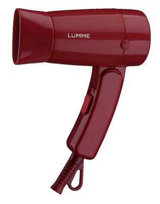 Фен Lumme LU-1040 красный фен lumme lu 1040 1200вт фиолетовый турмалин page 3