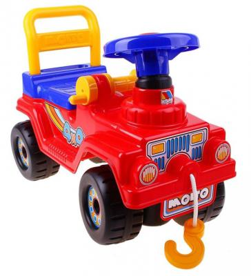 Каталка-машинка Molto Джип 4х4 красный от 1 года пластик