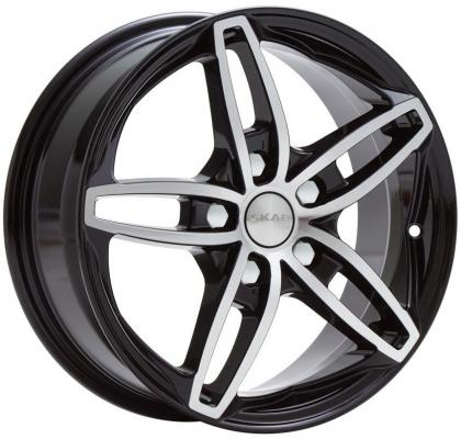 Диск Скад Турин 7xR17 5x112 мм ET43 Алмаз nz wheels f 31 7x17 5x112 d66 6 et43 bkf