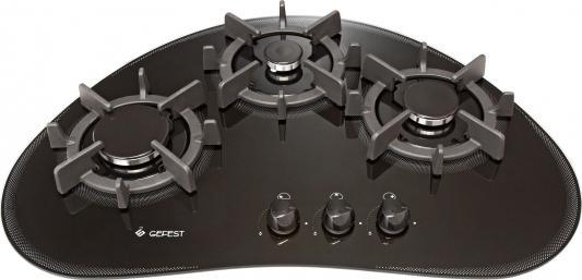 Варочная панель газовая Gefest СН 2120 черный