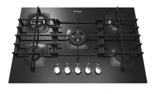 Варочная панель газовая Gefest СГ СН 2340 черный цена и фото
