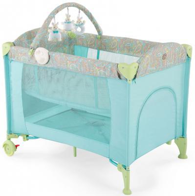Манеж-кровать Happy Baby Lagoon V2 (blue)