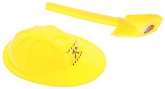 Игровой набор ZebraToys Лопата с каской 37 см 2 предмета 15-10594 цена