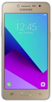 Смартфон Samsung SM-G532 Galaxy J2 Prime золотистый 5 8 Гб LTE Wi-Fi GPS 3G SM-G532FZDDSER кабели liberty project дата usb кабель micro usb плоский браслет