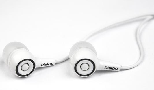 Наушники Dialog EP-10 белый