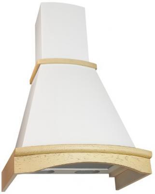 Вытяжка каминная Elikor Ротонда 60П-650-П3Л бежевый /дуб кремовый