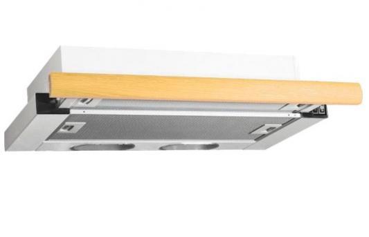 Вытяжка встраиваемая Elikor 50П-400-В2Л белый 840684