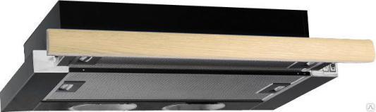 Вытяжка встраиваемая Elikor Интегра 60П-400-В2Л черный встраиваемая вытяжка elikor интегра 60 крем крем