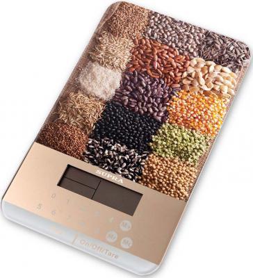 Весы кухонные Supra BSS-4082 рисунок телефон supra stl 111 белый