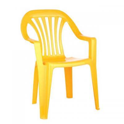 Стул детский Бытпласт, цвет желтый,  Мод.4312070