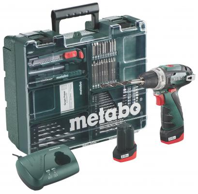 Аккумуляторная дрель-шуруповерт Metabo BSBasicSet 600080880