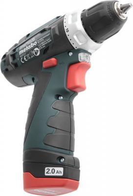 Аккумуляторная дрель-шуруповерт Metabo PowerMaxxBS 600079500  аккумуляторная ножовка metabo powermaxx ase 10 8 602264750