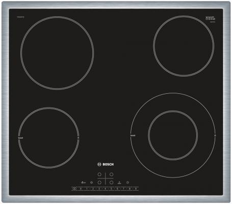 Варочная панель электрическая Bosch PKF645FP1 черный