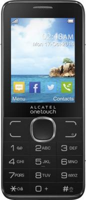 """Мобильный телефон Alcatel OneTouch 2007D коричневый 2.4"""" 16 Мб 2007D-2BALRU1-1"""