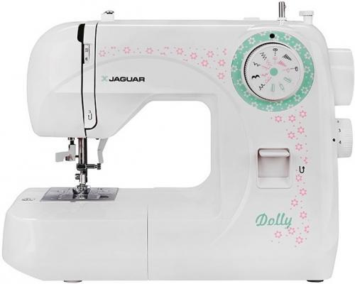 Швейная машина Jaguar Dolly белый рисунок