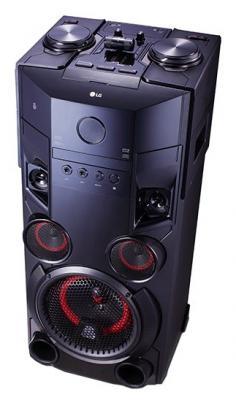 Минисистема LG OM6560 500Вт черный