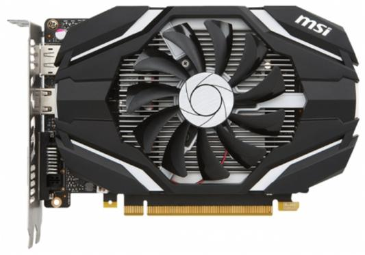 Видеокарта 4096Mb MSI GeForce GTX1050Ti OC PCI-E 128bit GDDR5 1341/7000 DVIx1/HDMIx1/DPx1/HDCP GTX1050TI 4G OC Retail
