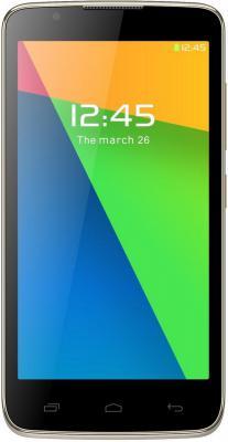 """Смартфон Micromax Q383 шампань 5"""" 4 Гб Wi-Fi 3G"""