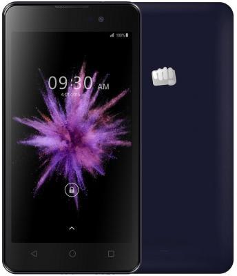 """Смартфон Micromax Q334 синий 5"""" 4 Гб Wi-Fi GPS 3G"""