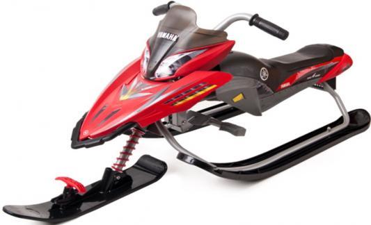 Снегокат Snow Moto YAMAHA Apex SNOW BIKE Titanium до 40 кг черный красный металл сталь YM13001