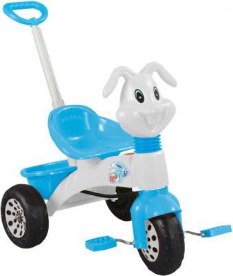 """Велосипед трехколёсный Pilsan """"bunny"""" с родительской ручкой"""