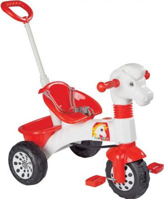 """Велосипед Pulsar pony Bike"""" красный с родительской ручкой 07-139"""
