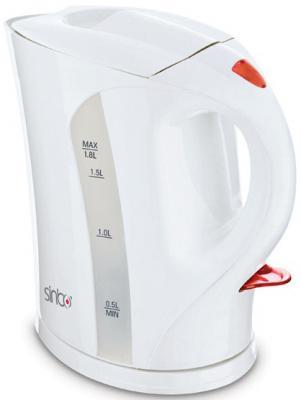 Чайник Sinbo SK 2373 2000 Вт белый 1.7 л пластик