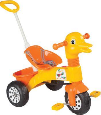 Велосипед Pulsar Ducky желтый с родительской ручкой 07-141