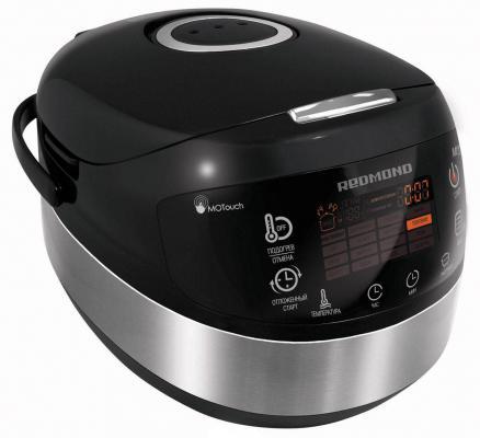 Мультиварка Redmond RMK-M911 серебристый черный 860 Вт 5 л мультиварка polaris pmc 0559d кофе 860 вт 5 л