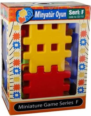 Конструктор Pilsan Miniature 36 элементов 03-110 pilsan конструктор miniature